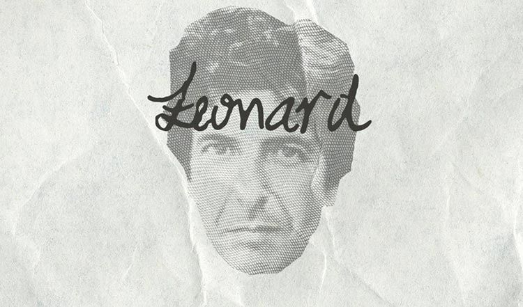 Songwriters Fonts | Leonard Cohen