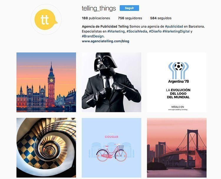 Agencia de Publicidad Telling en Instagram