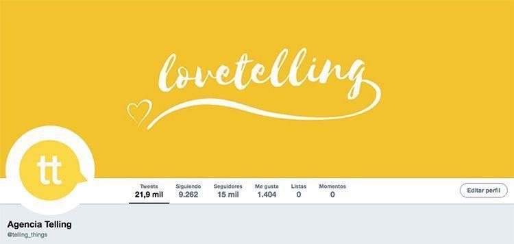 Agencia de Publicidad Telling en Twitter