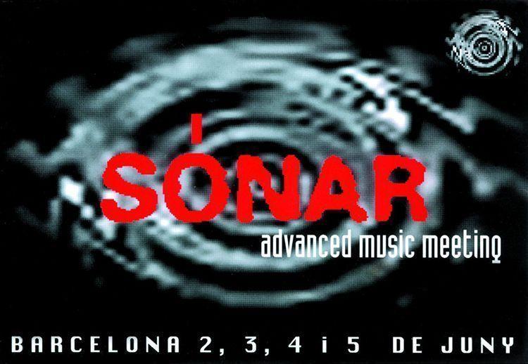 Cartel del Sónar 1994