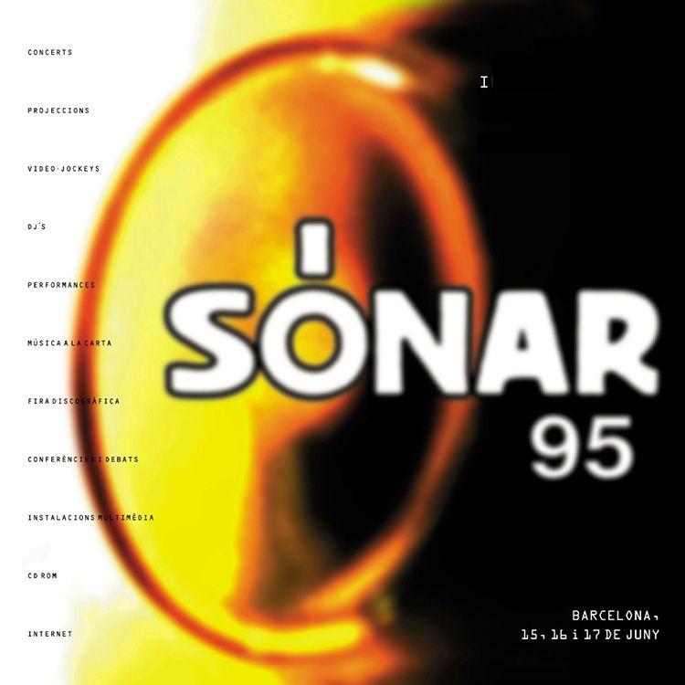 Cartel del Sónar 1995
