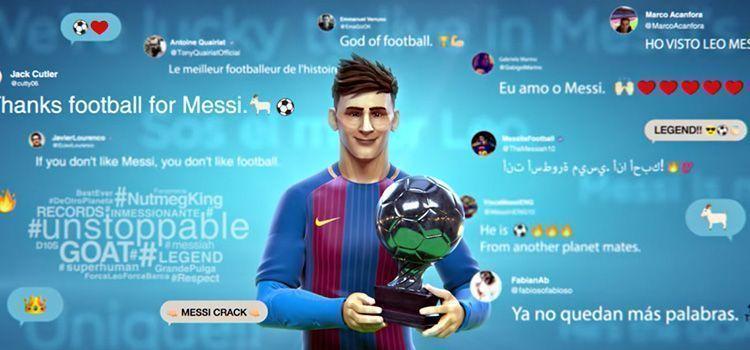 Anuncio de Gatorade - Leo Messi