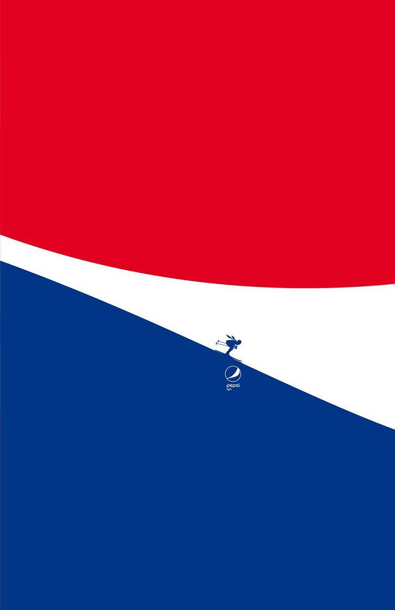 Campaña Gráfica de Pepsi - Feel Light