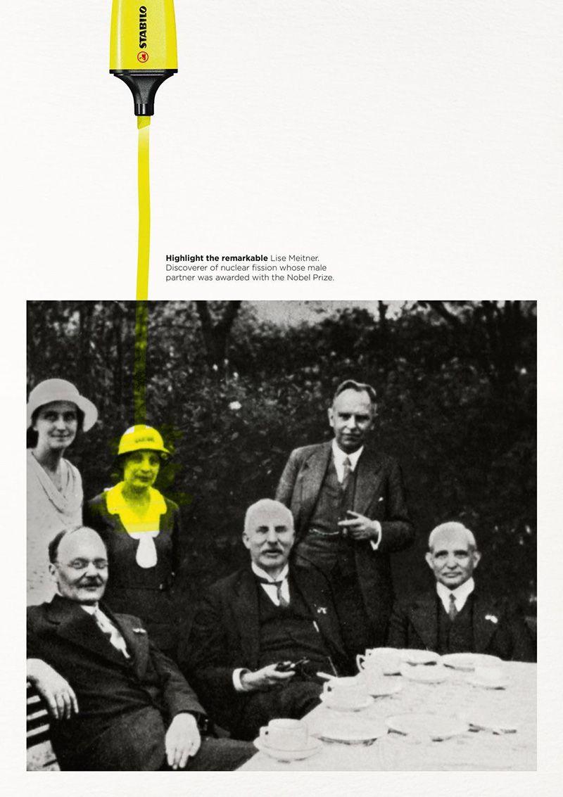 Campaña Gráfica de Stabilo: Highlight the remarkable