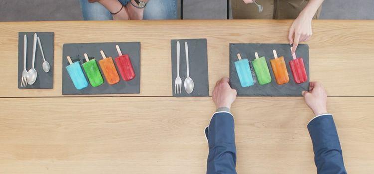 Publicidad de Intermarché - The Taste of Colors