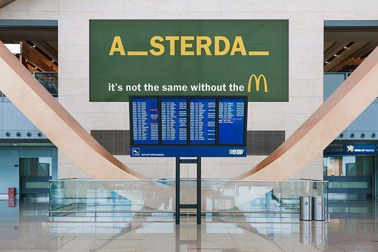 Publicidad de McDonald's - Amsterdam