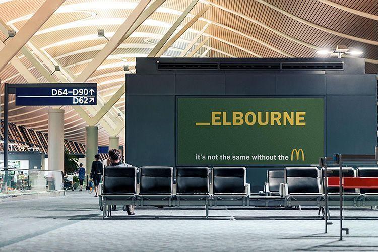 Publicidad de McDonald's - Melbourne