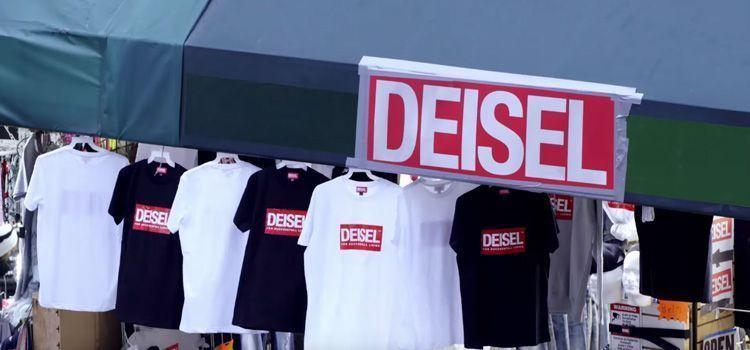 Tienda de falsificaciones Diesel