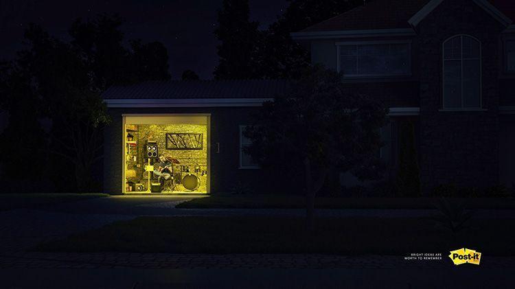 Anuncios de Post-it