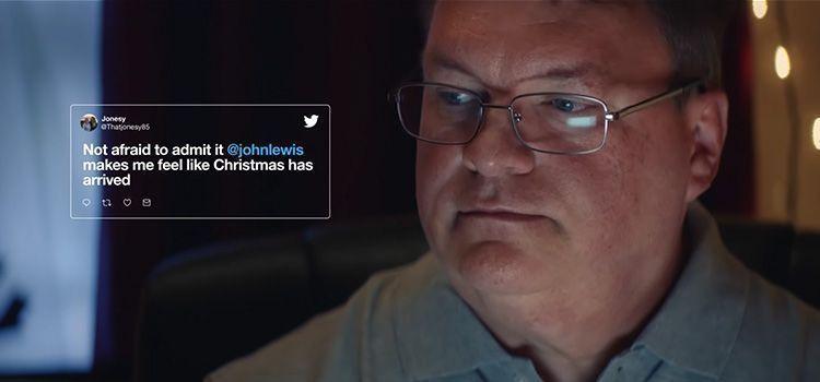 Anuncio de navidad de Twitter - John Lewis
