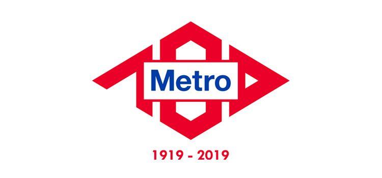 Logotipo de Metro Centenario
