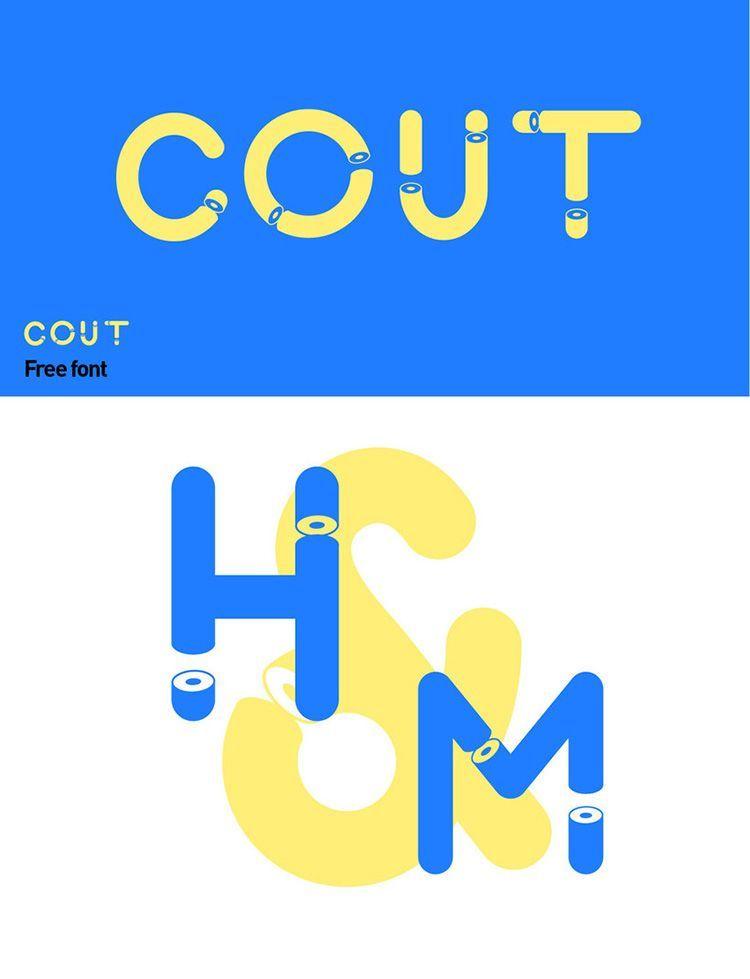 Descargar tipografía Cout
