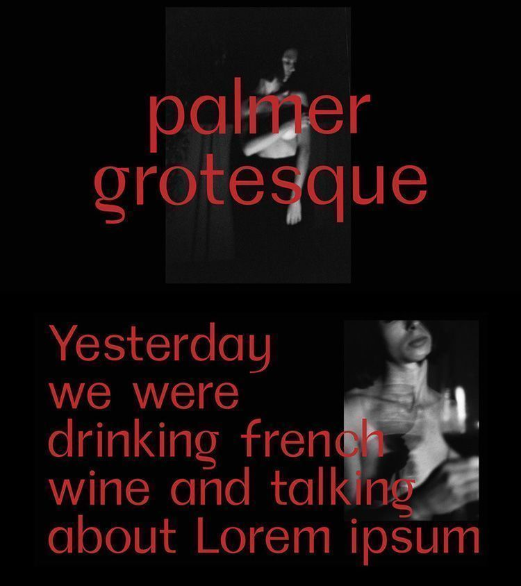 Descargar tipografía Palmer Grotesque