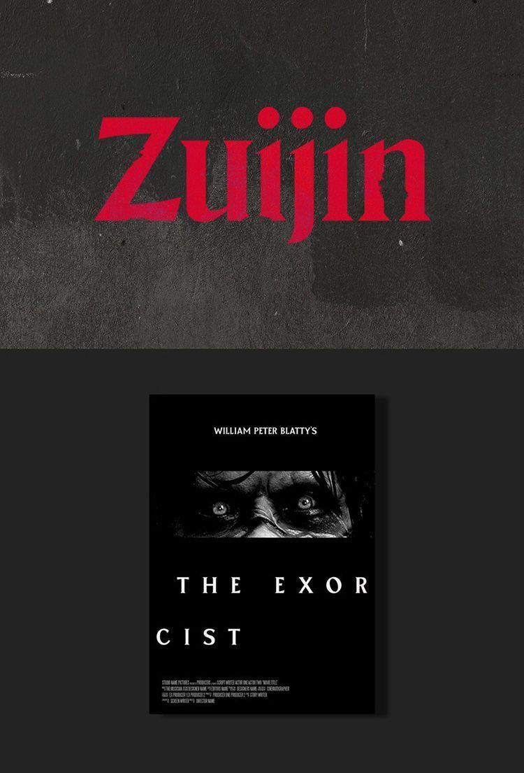 Descargar tipografía Zuijin