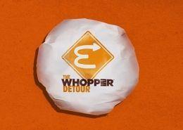The Whopper Detour Burger King