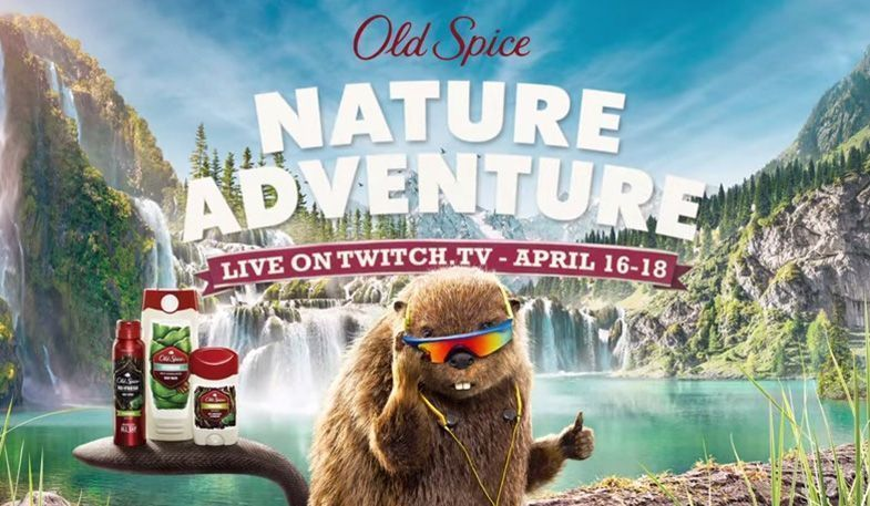 Twitch Old Spice Marketing