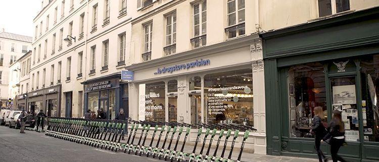 Acción de Le DrugStore Parisien