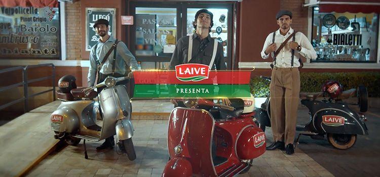 Acción de Quesos Laive - Persecución a la italiana