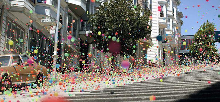 """Anuncio """"Balls"""", de Sony"""