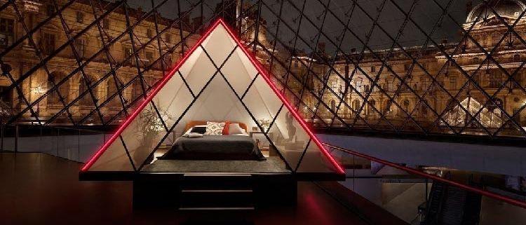 El Louvre y Airbnb sortean una noche en el museo