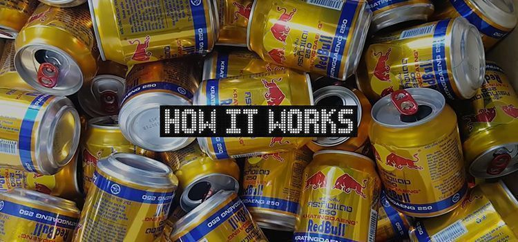 Valla de Publicidad de Red Bull