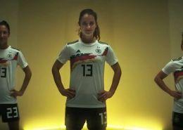 Anuncio Selección Alemana de Futbol Femenino