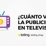 Cuánto vale la publicidad en televisión