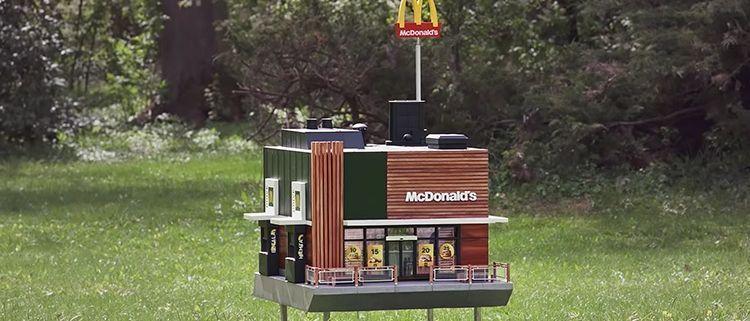 Restaurante McDonald's para abejas
