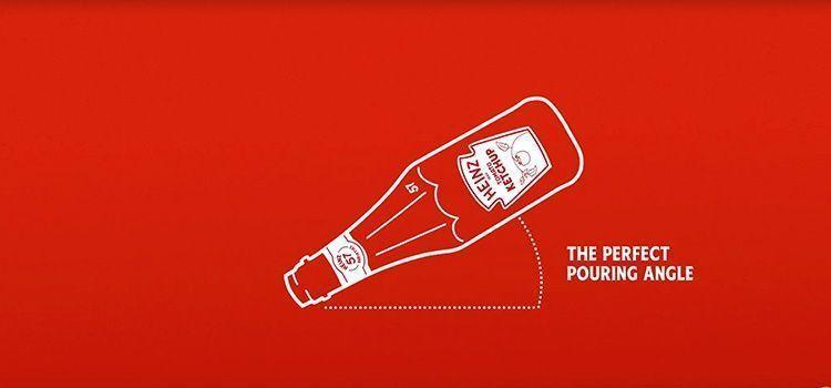 Como servir Ketchup Heinz correctamente