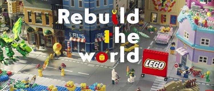 Publicidad de Lego: Rebuild the World