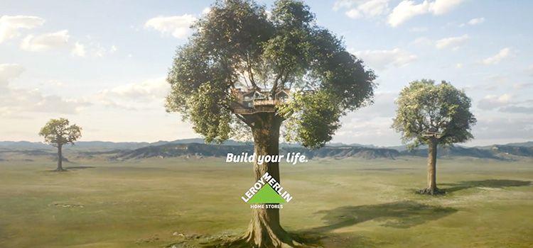 Anuncio de Leroy Merlin | A life to build