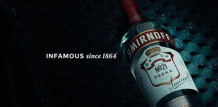 Publicidad de Smirnoff   Since 1864