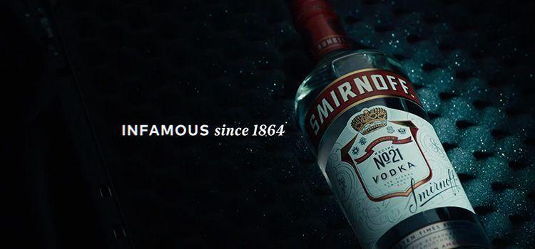 Publicidad de Smirnoff | Since 1864