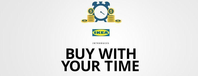 Paga con tu tiempo | Ikea