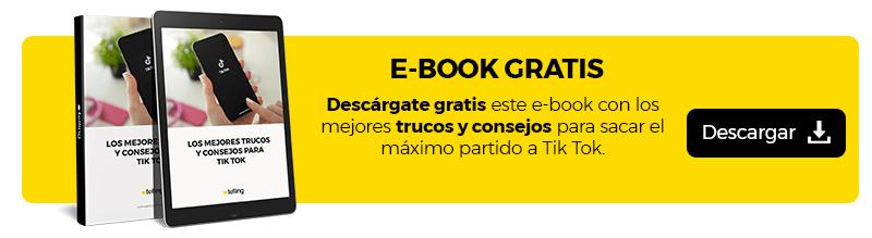 Ebook Gratis Consejos para Tik Tok