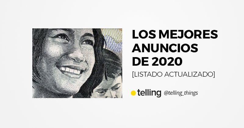 Los mejores anuncios de 2020