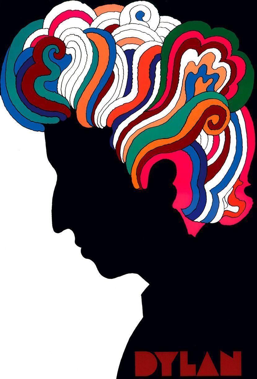 Bob Dylan Cover | Milton Glaser