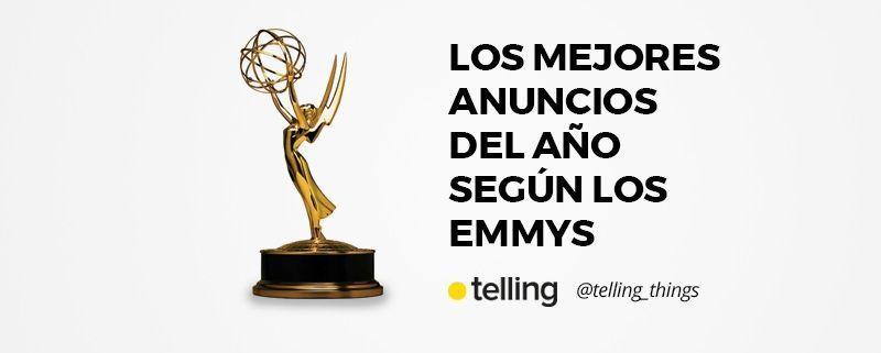 Mejores anuncios del año Emmys