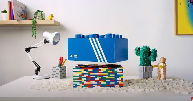 Bambas Adidas de Lego