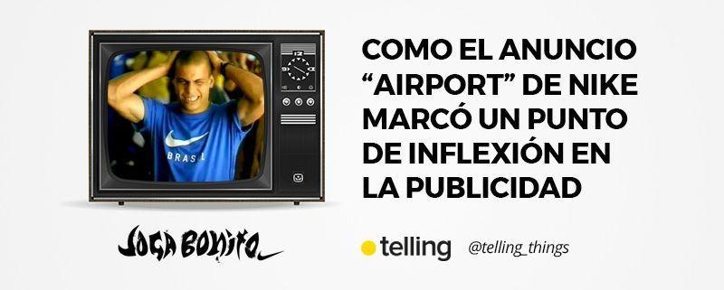 Anuncio Airport de Nike