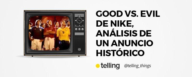 Anuncio Good vs Evil de Nike