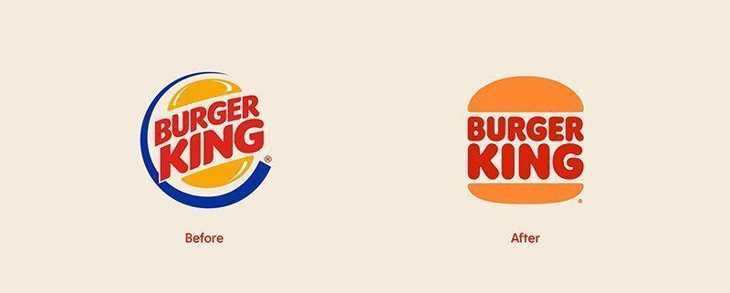 Nuevo logotipo de Burger King