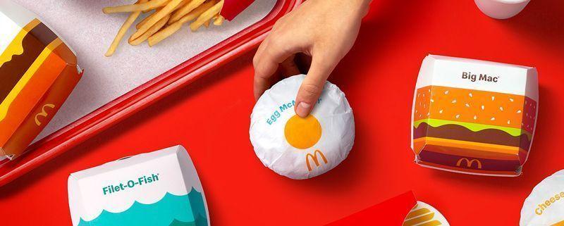 Nuevo Packaging de McDonald's