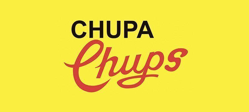 Primer logotipo de Chupa Chups