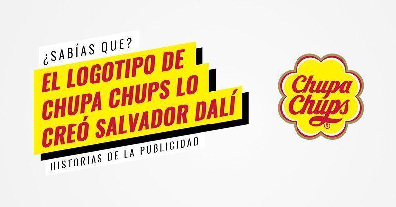 Salvador Dalí creó el logotipo de Chupa Chups