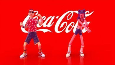 Challenge de Coca-Cola  Unreal Dancers